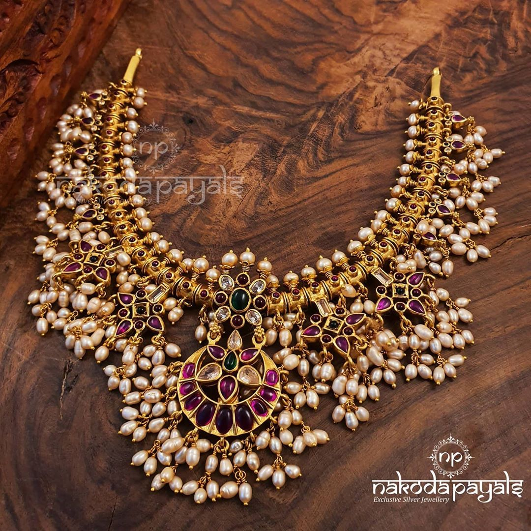 92.5-22k-gold-polish-pure-silver-necklace