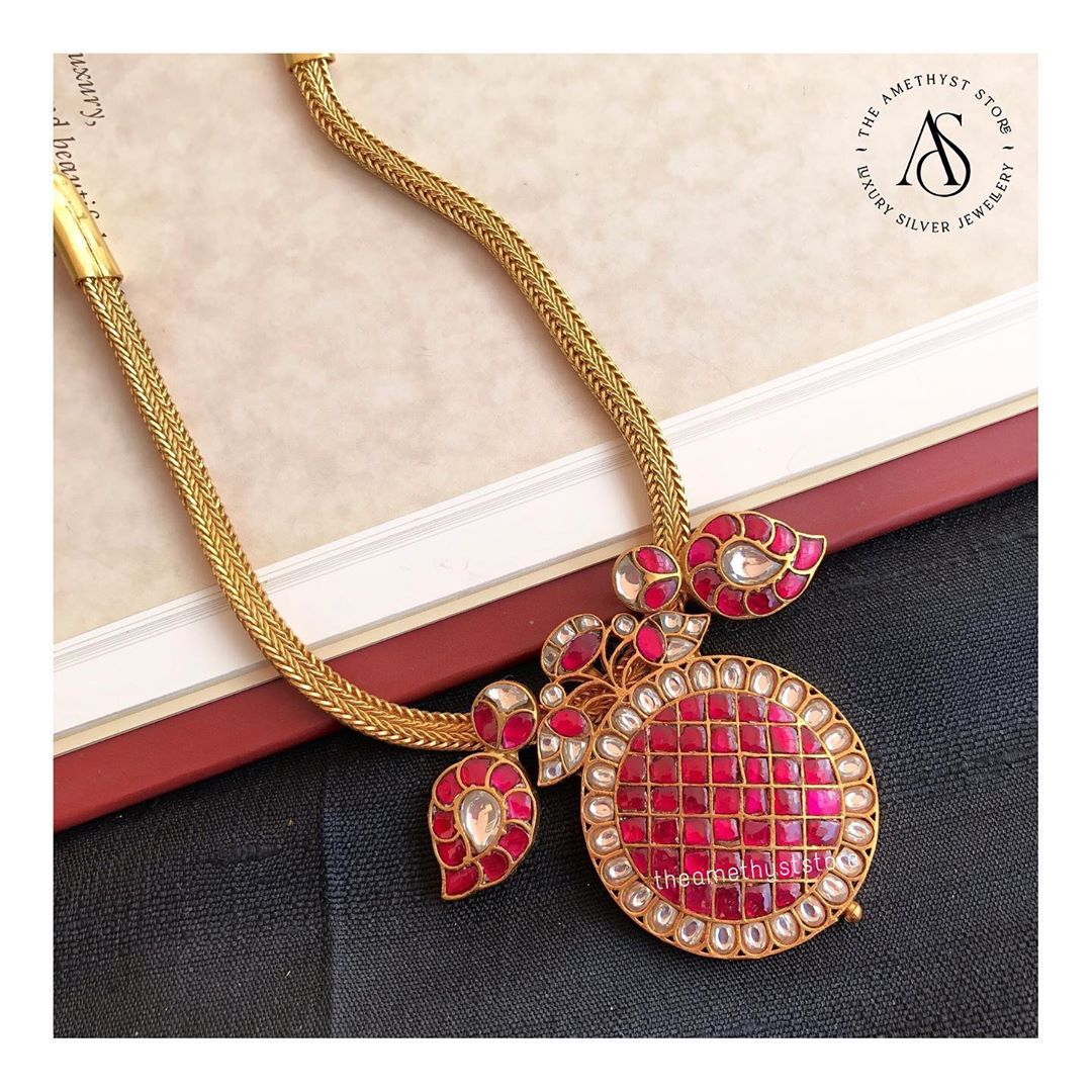 92.5-Silver-22kt-Gold-Plated-Necklace
