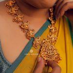 Classy Designer Temple Necklace