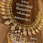 Gold Plated Silver Necklace Designs