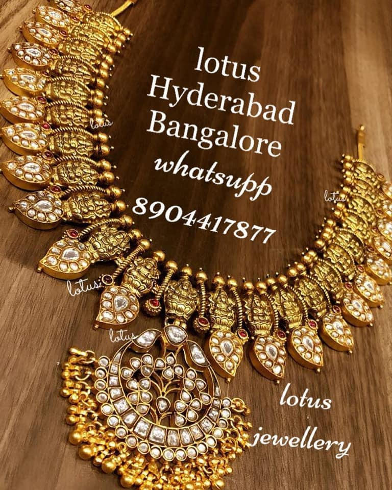Gold-Plated-Silver-Necklace-Designs