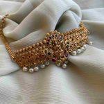 Imitation Premium Quality Lakshmi Choker
