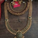 Antique Short Necklace And Long Coin Necklace