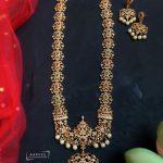 CZ Long Necklace Set