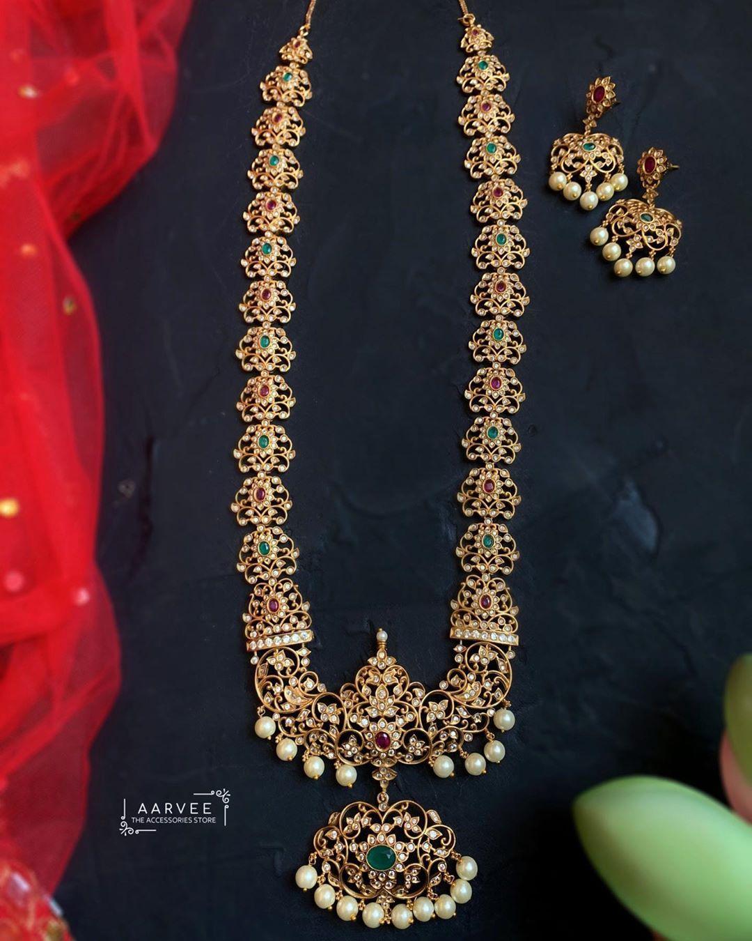 cz-long-necklace-set