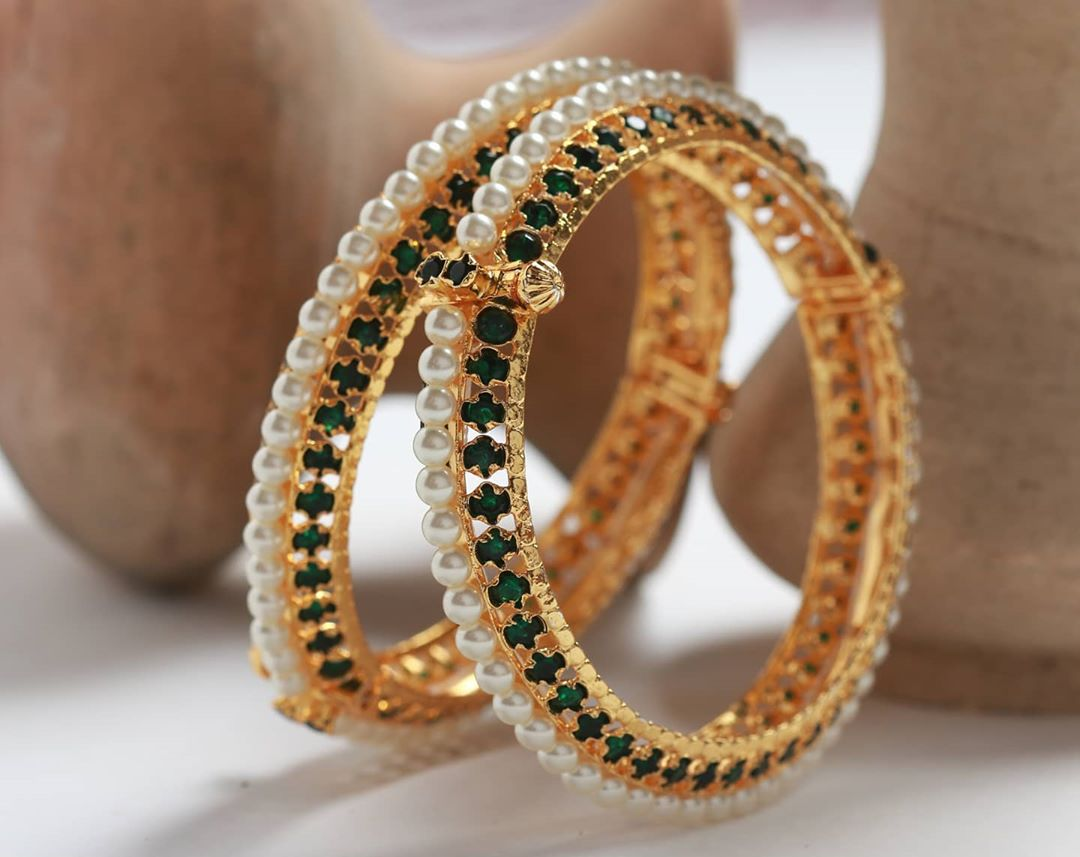 green-stones-studded-pearl-bangles