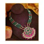 Handmade Jade And Kundan Necklace
