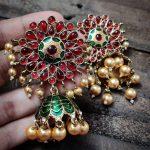 Handmade Kemp Jhumkas