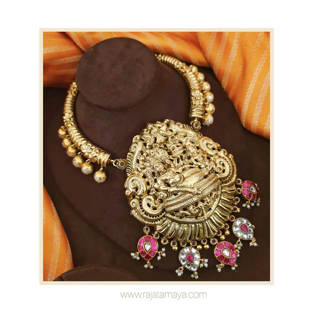 handmade-silver-gold-plated-nagas-necklace