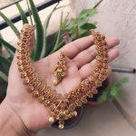 Kemp Stone Imitation Necklace Set