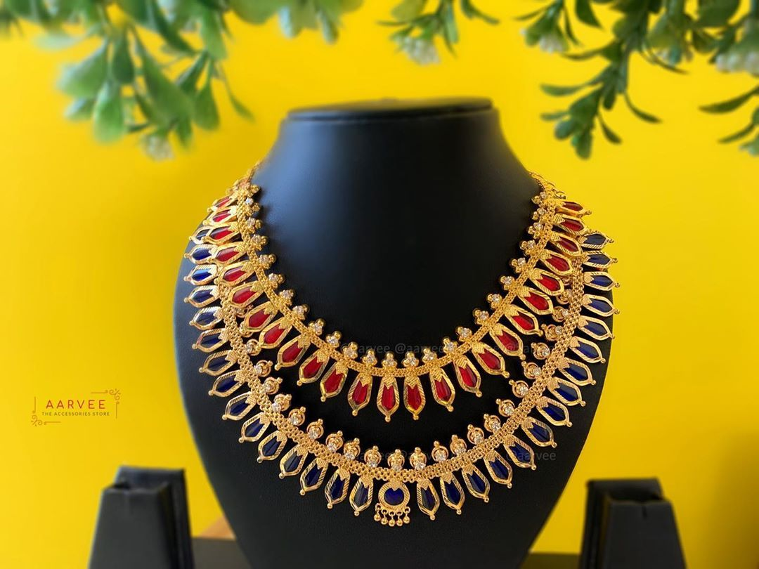 kerala-style-double-layer-necklace