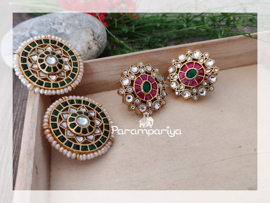 kundan-stud-earrings
