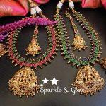 Lakshmi Pendant Kemp Necklace Set