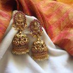 Long Lakshmi Bridal Jhumka