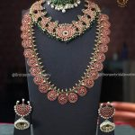 Multistone Bridal Necklace Set