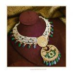 Pearl Uncut Diamonds Haram Necklace