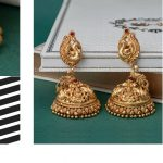 Pure Silver Handcrafted Nakashi Jhumkas