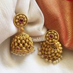 Ruby Filgree Tiny Jhumka