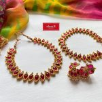 Ruby Mango Necklace Set