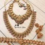 Semi South Indian Bridal Set