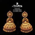 Traditional Gold Jhumka