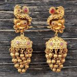 Traditional Grape Bunch Jhumkas