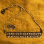 Traditional Lakshmi Coin Guttapusalu Choker