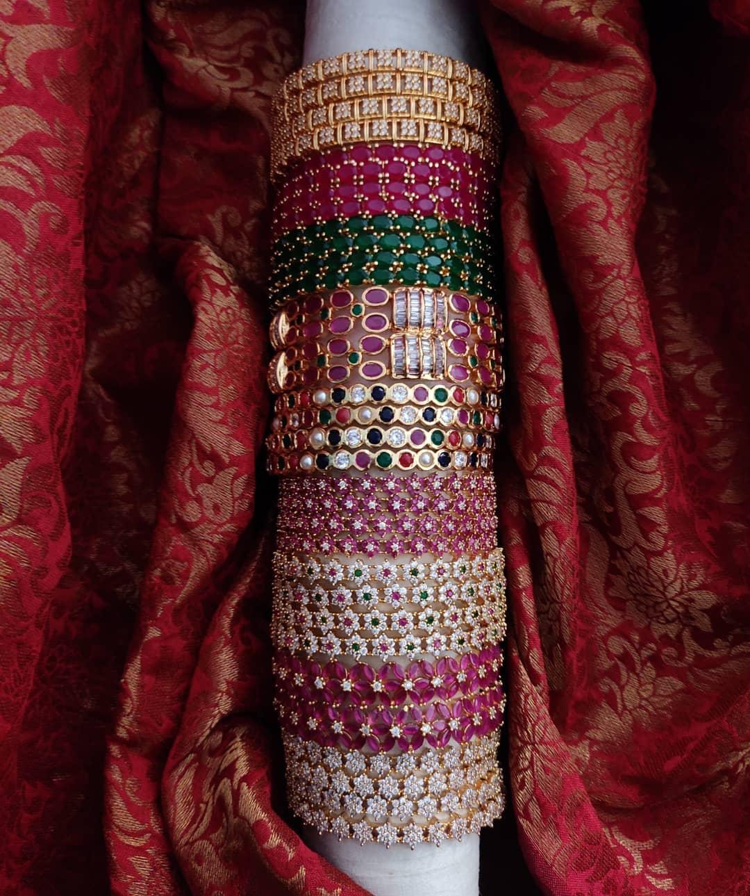 beautiful-stone-bangles