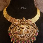 Bold Lakshmi Pendant Necklace