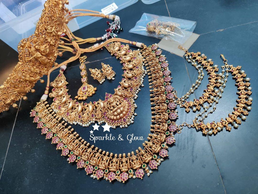 bridal-temple-jewellery-set
