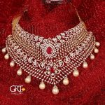 Diamond Ruby Choker Necklace