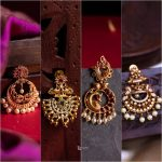 Ethnic Gold Chandbalis