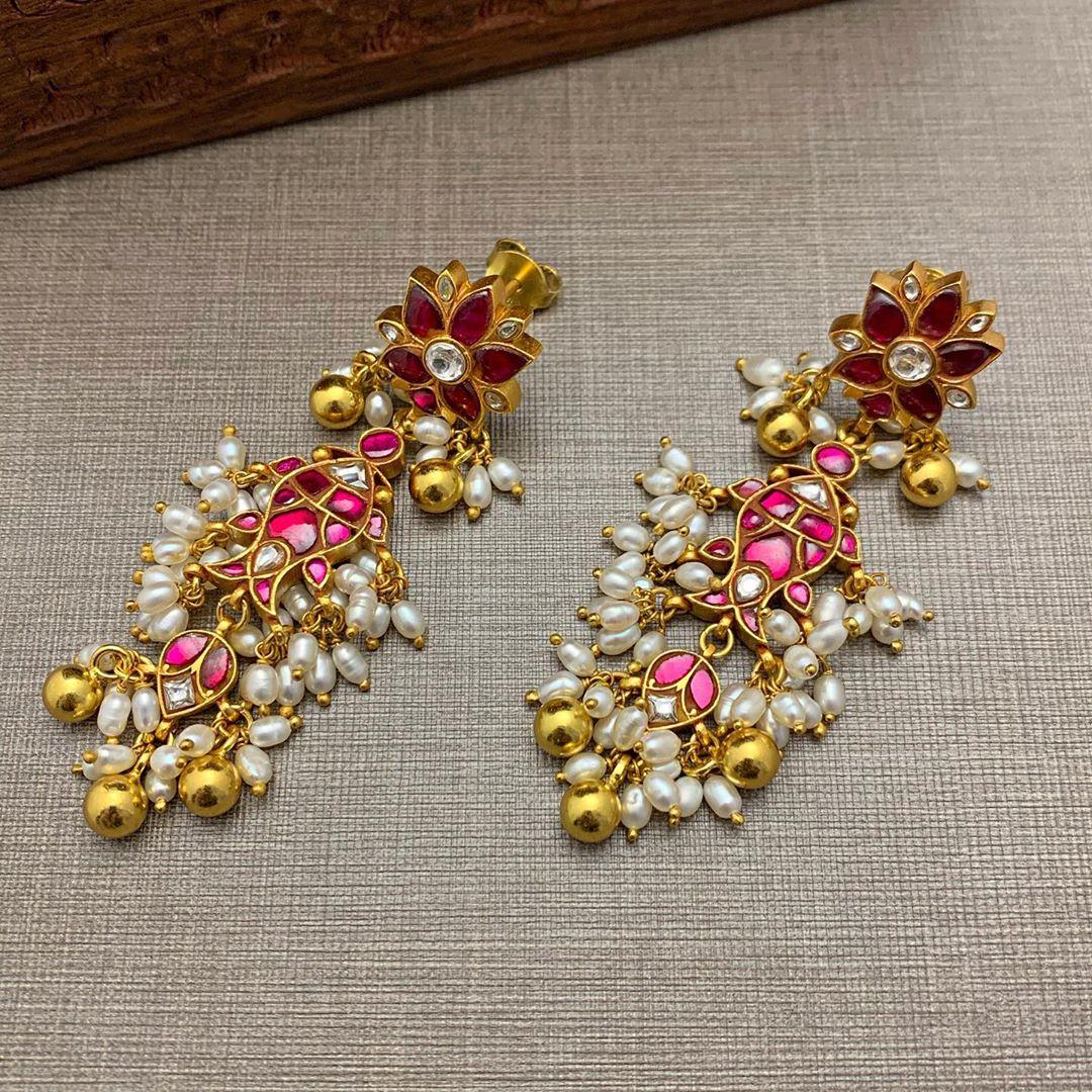 gold-plated-silver-kundan-fish-design-earrings