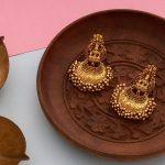 Handcrafted Antique Lakshmi Earrings