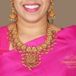 Handcrafted Gold Plated Silver Necklace Set