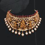 Handmade Gold Ganesha Choker
