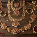 Kemp Bharatnatyam Bridal Set