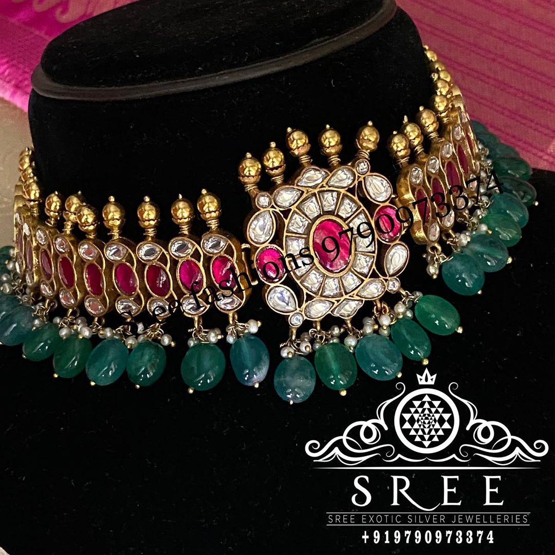 kundan-choker-necklace