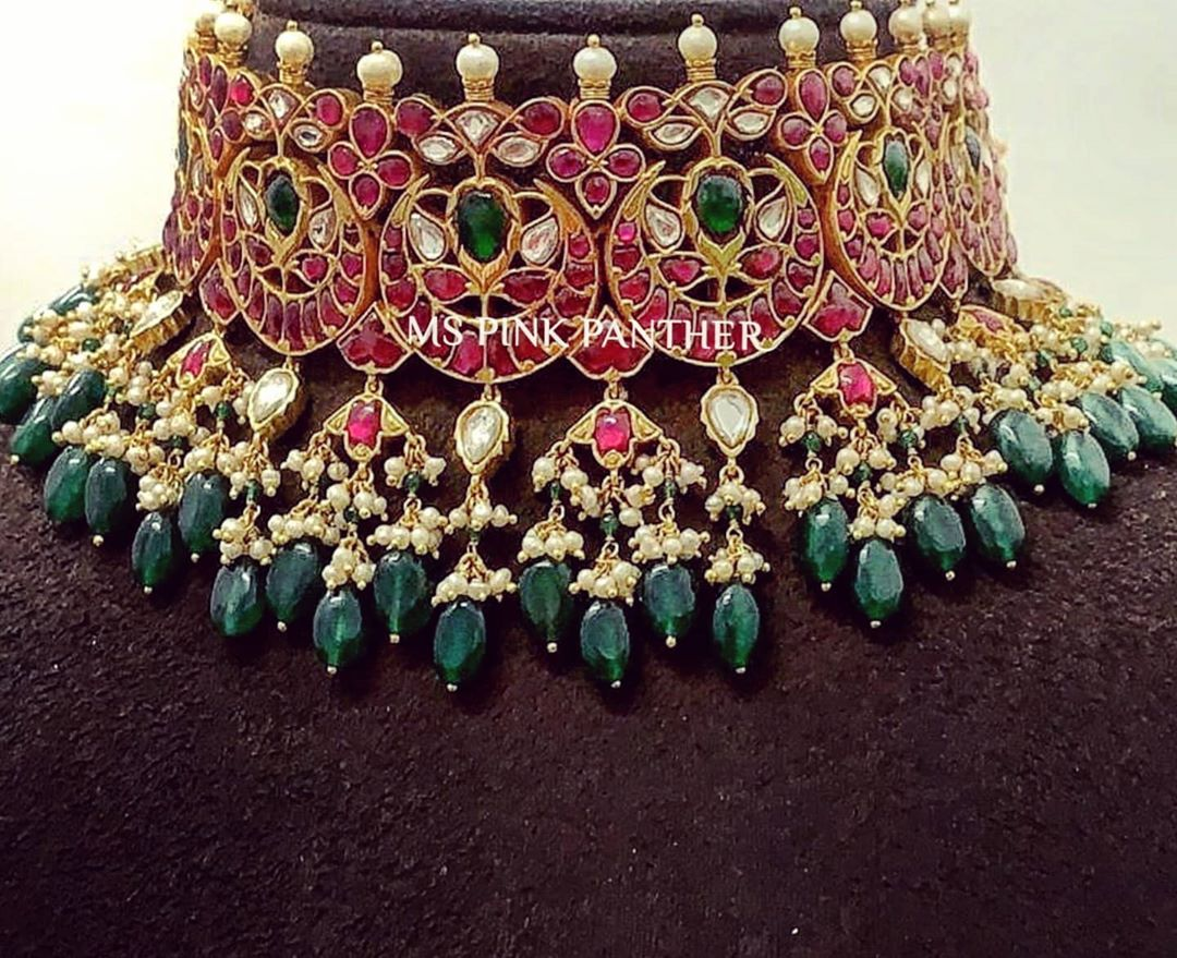 kundan-choker-necklace
