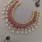 Kundan And Pearl Necklace