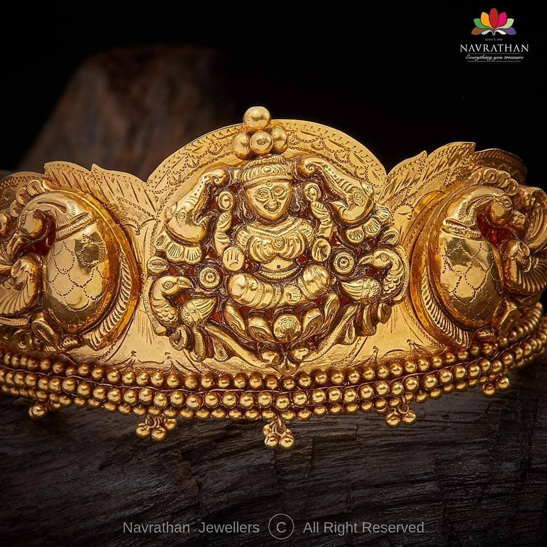 lakshmi-peacock-design-antique-armlet