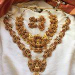Matte Finish Lakshmi Grand Semi Bridal Set