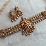 Nagasi Lakshmi Pearl Choker Earrings
