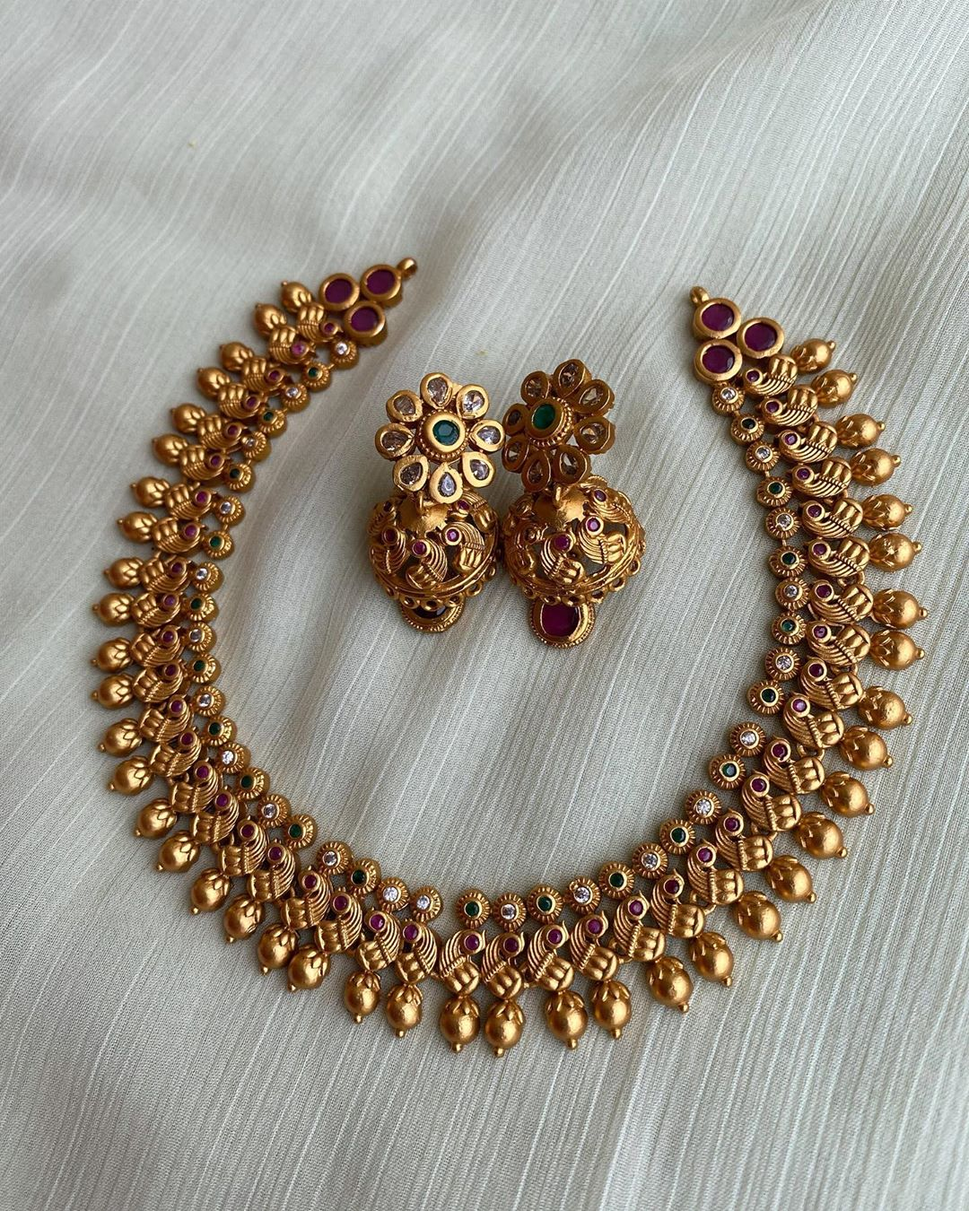 peacock-necklace-earrings