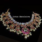 Polki Stone Studded Kundan Short Necklace