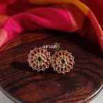 Ruby And Kemp Stone Flower Studs
