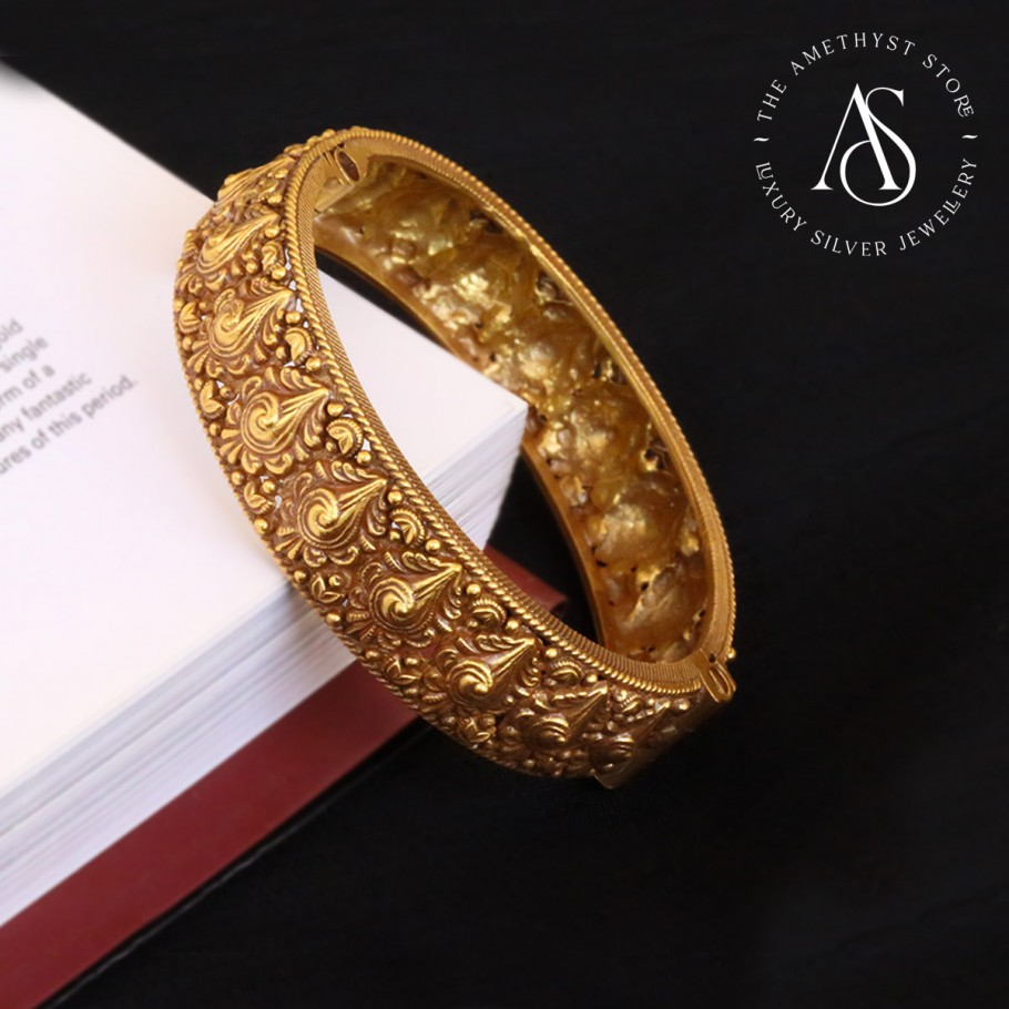 silver-gold-plated-bangle