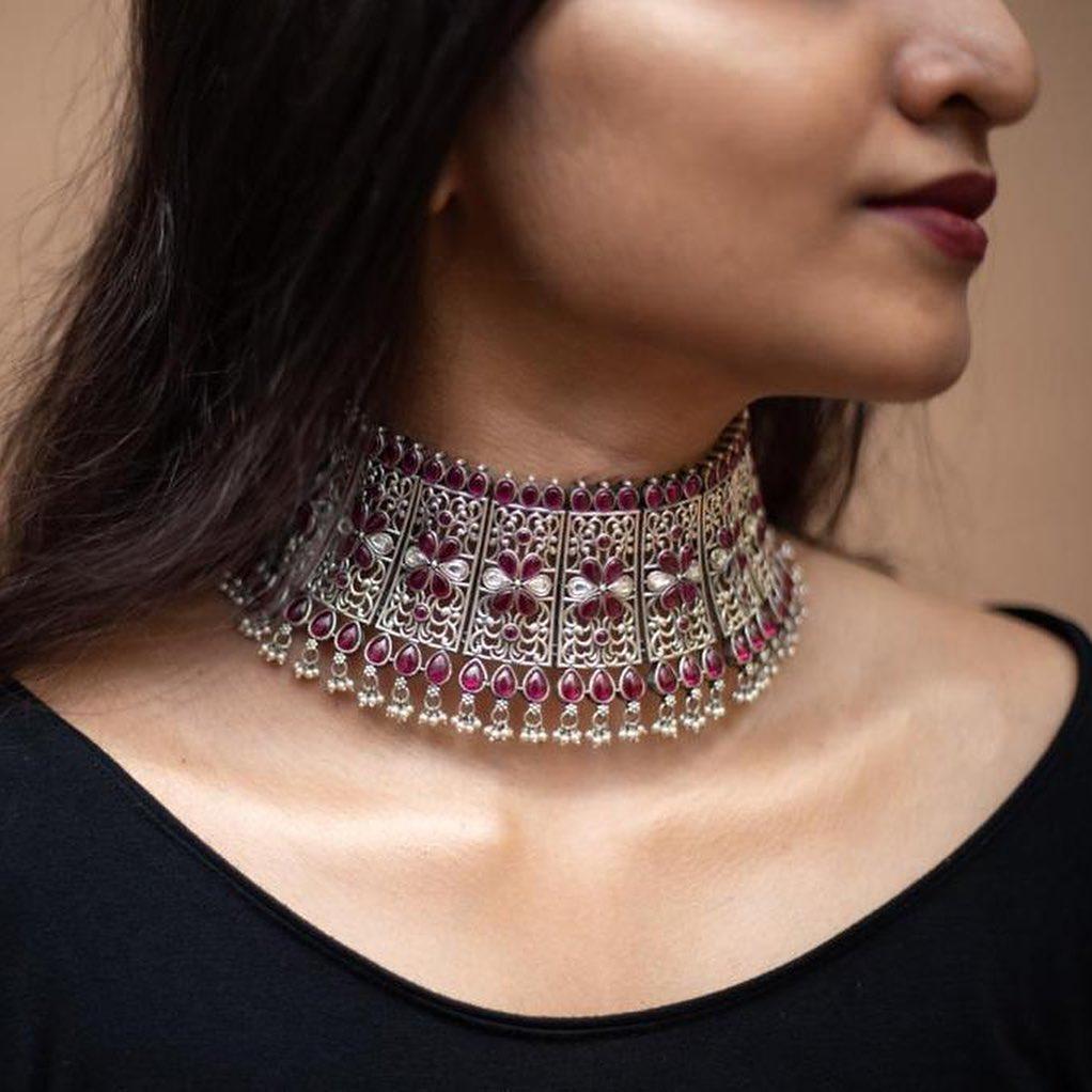 silver-kemp-choker-necklace