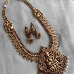 Antique Bridal Lakshmi Pendant Haram
