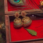 Exclusive Bridal Peacock Design Jhumka